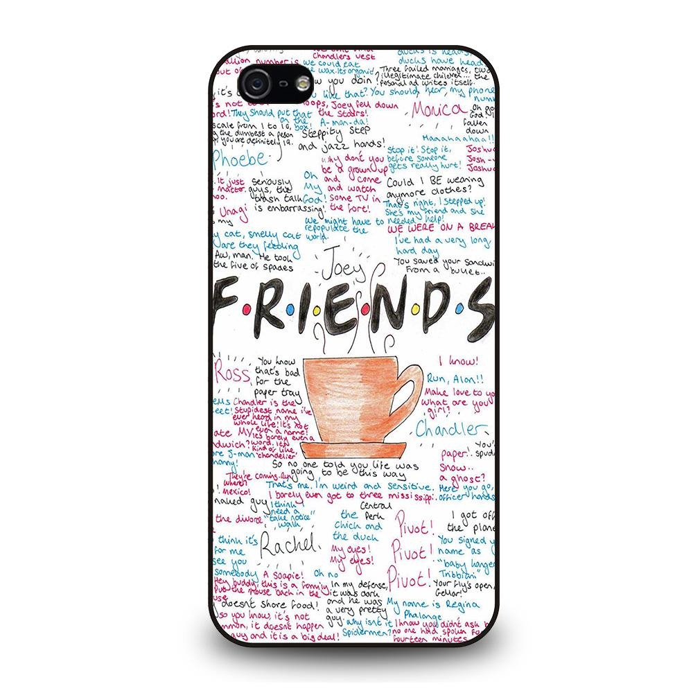 FRIENDS TV SHOW QUOTES Cover iPhone 5 / 5S / SE