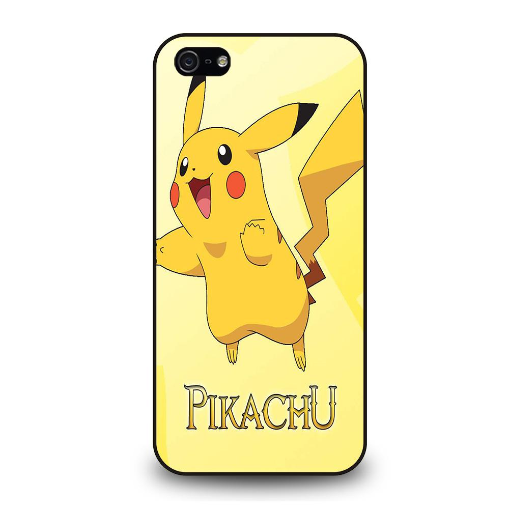 FUNNY CUTE PIKACHU POKEMON Cover iPhone 5 / 5S / SE
