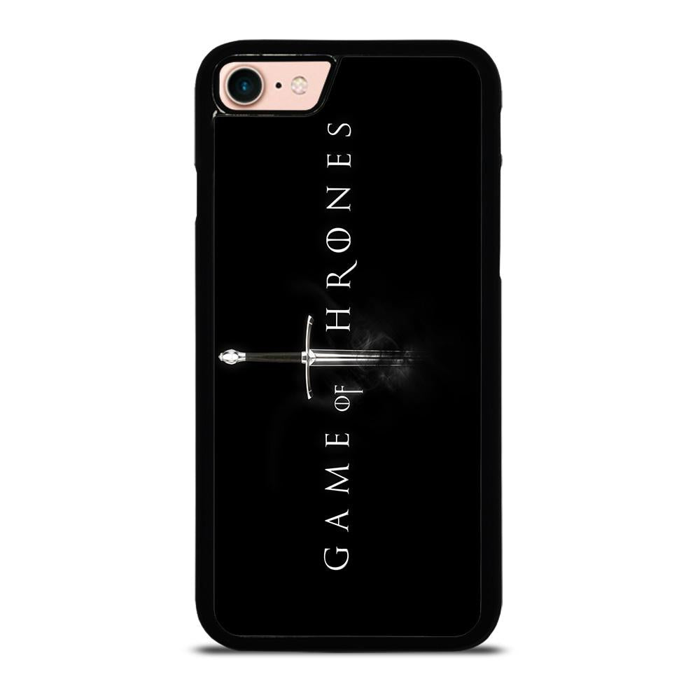 GAME OF THRONES LOGO BLACK Cover iPhone 8