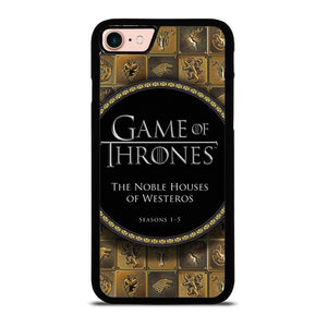 GAME OF THRONES THE NOBLE HOUSES OF WESTEROS Cover iPhone 8
