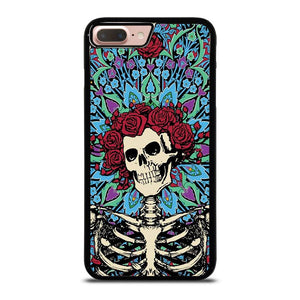 GRATEFUL DEAD SKELETON AND ROSES Cover iPhone 8 Plus
