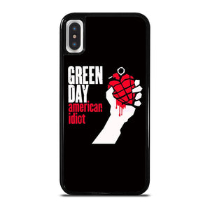 GREEN DAY AMERICAN IDIOT cover iPhone X / XS,cover iphone x con logo apple nillkin cover iphone x,GREEN DAY AMERICAN IDIOT cover iPhone X / XS