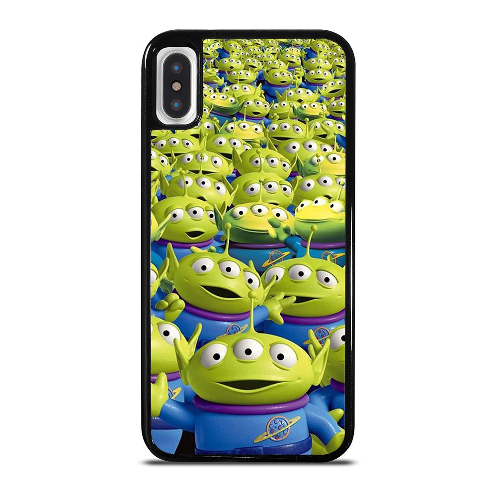 GREEN ALIEN TOY STORY cover iPhone X / XS,cover iphone x 3d cover iphone x a specchio,GREEN ALIEN TOY STORY cover iPhone X / XS
