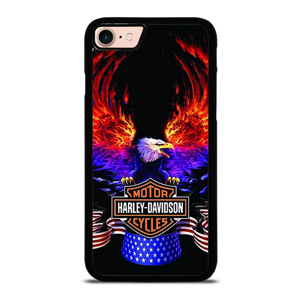 HARLEY DAVIDSON EAGLE 2 Cover iPhone 8