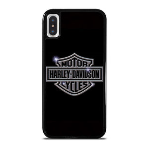 HARLEY DAVIDSON LOGO BLACK cover iPhone X / XS,cover iphone x integrale nillkin cover iphone x,HARLEY DAVIDSON LOGO BLACK cover iPhone X / XS
