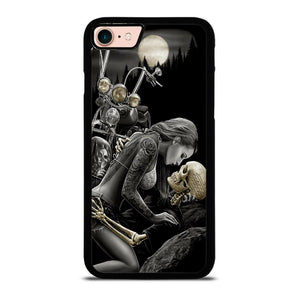 HARLEY DAVIDSON RIDER SKULL Cover iPhone 8