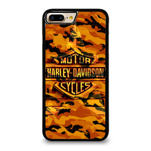 HARLEY DAVIDSON CAMO ORANGE Cover iPhone7 Plus
