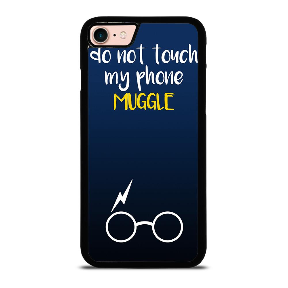 HARRY POTTER MUGGLE DO NOT TOUCH MY PHONE Cover iPhone 8