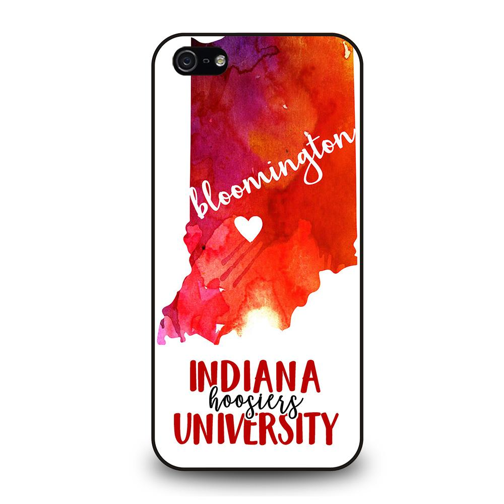 INDIANA HOOSIERS UNIVERSITY Cover iPhone 5 / 5S / SE