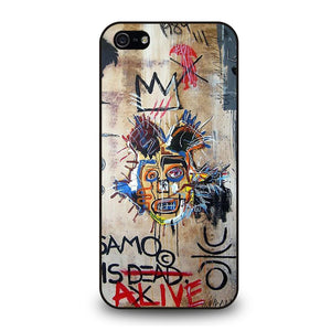 IN MEMORY BASQUIAT Cover iPhone 5 / 5S / SE