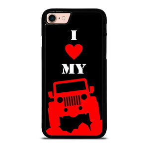 I LOVE MY JEEP Cover iPhone 8