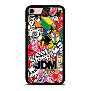 JDM STICKER BOMB Cover iPhone 8