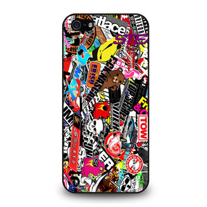 JMD STYLE VINILO STICKER BOMB Cover iPhone 5 / 5S / SE