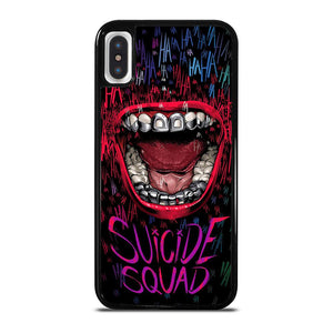JOKER COMIC SUICIDE SQUAD HAHAHA cover iPhone X / XS,cover iphone x alviero martini cover iphone x pitone,JOKER COMIC SUICIDE SQUAD HAHAHA cover iPhone X / XS