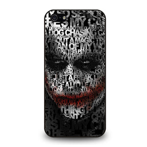 JOKER LEDGER FACE Cover iPhone 5 / 5S / SE