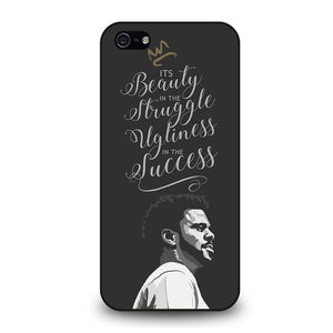 J COLE LOVE YOURZ QUOTES LYRICS Cover iPhone 5 / 5S / SE