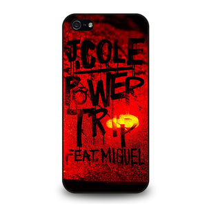 J COLE POWER TRIP ARTWORK Cover iPhone 5 / 5S / SE