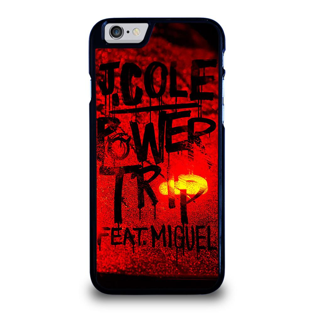 J COLE POWER TRIP ARTWORK Cover iPhone 6 / 6S