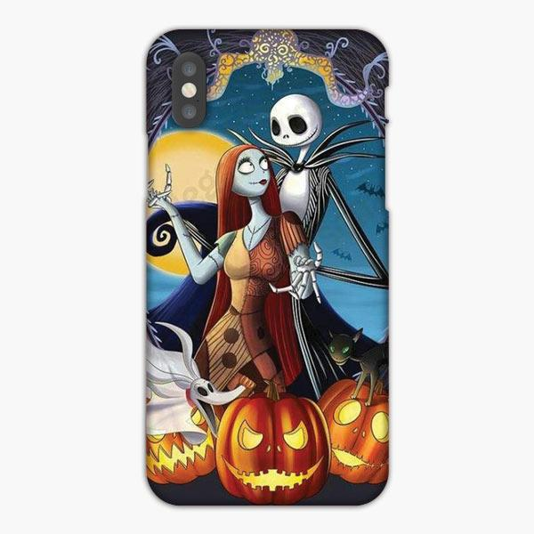 Custodia Cover iphone 6 7 8 plus Jack Skellington Y Sally