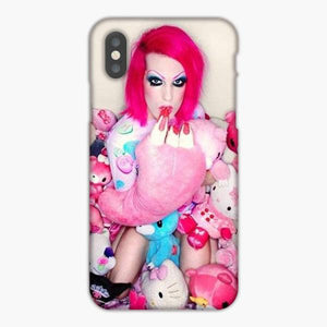 Custodia Cover iphone 6 7 8 plus Jeffree Star Hello Kitty Pink Doll