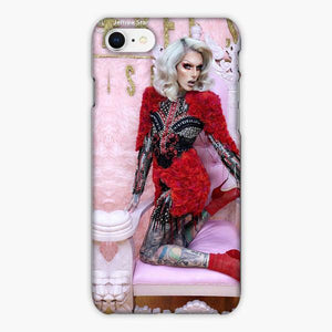 Custodia Cover iphone 6 7 8 plus Jeffree Star Red Dress