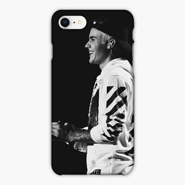 Custodia Cover iphone 6 7 8 plus Justin Bieber Jb Off White