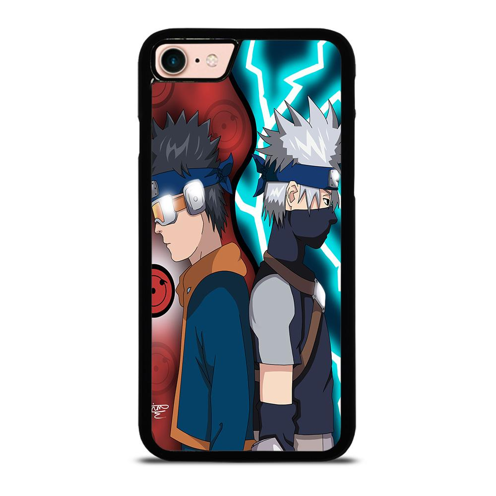 KAKASHI AND OBITO KIDS Cover iPhone 8
