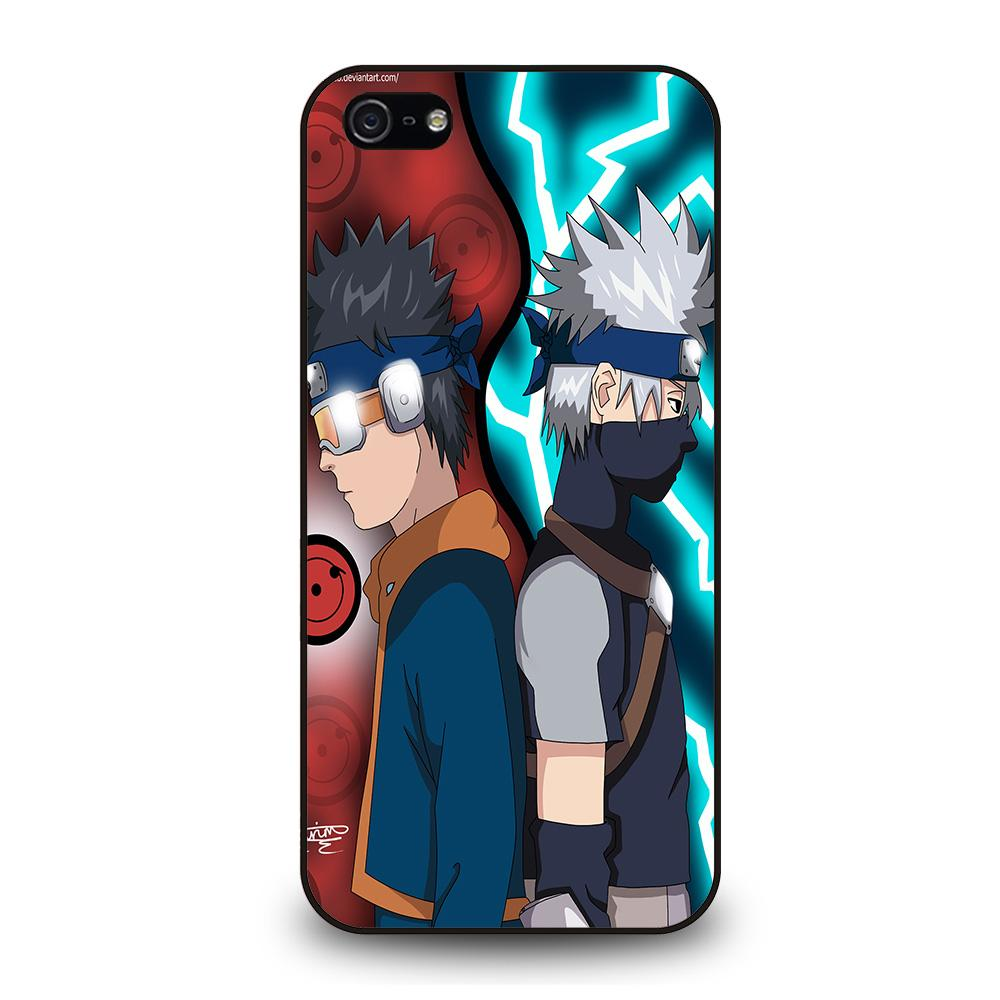 KAKASHI AND OBITO KIDS Cover iPhone 5 / 5S / SE
