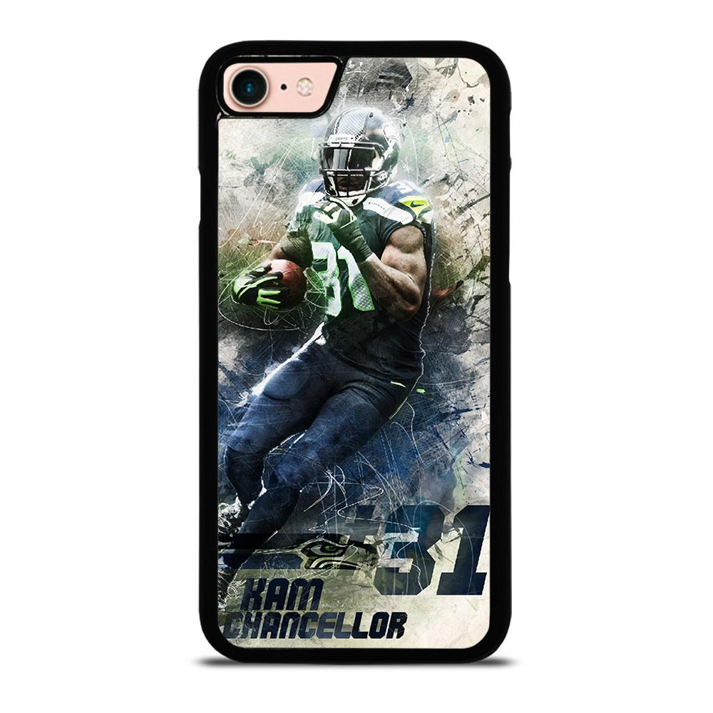 KAM CHANCELLOR SEATTLE SEAHAWKS NEW-iPHONE 8 PLUS custodia cover iPhone8