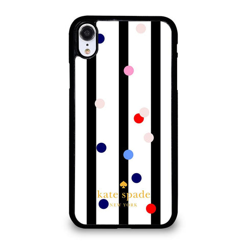 KATE SPADE STRIPE POLKADOTS Cover iPhone XR,cover iphone xr chiara ferragni marcelo burlon cover iphone xr,KATE SPADE STRIPE POLKADOTS Cover iPhone XR