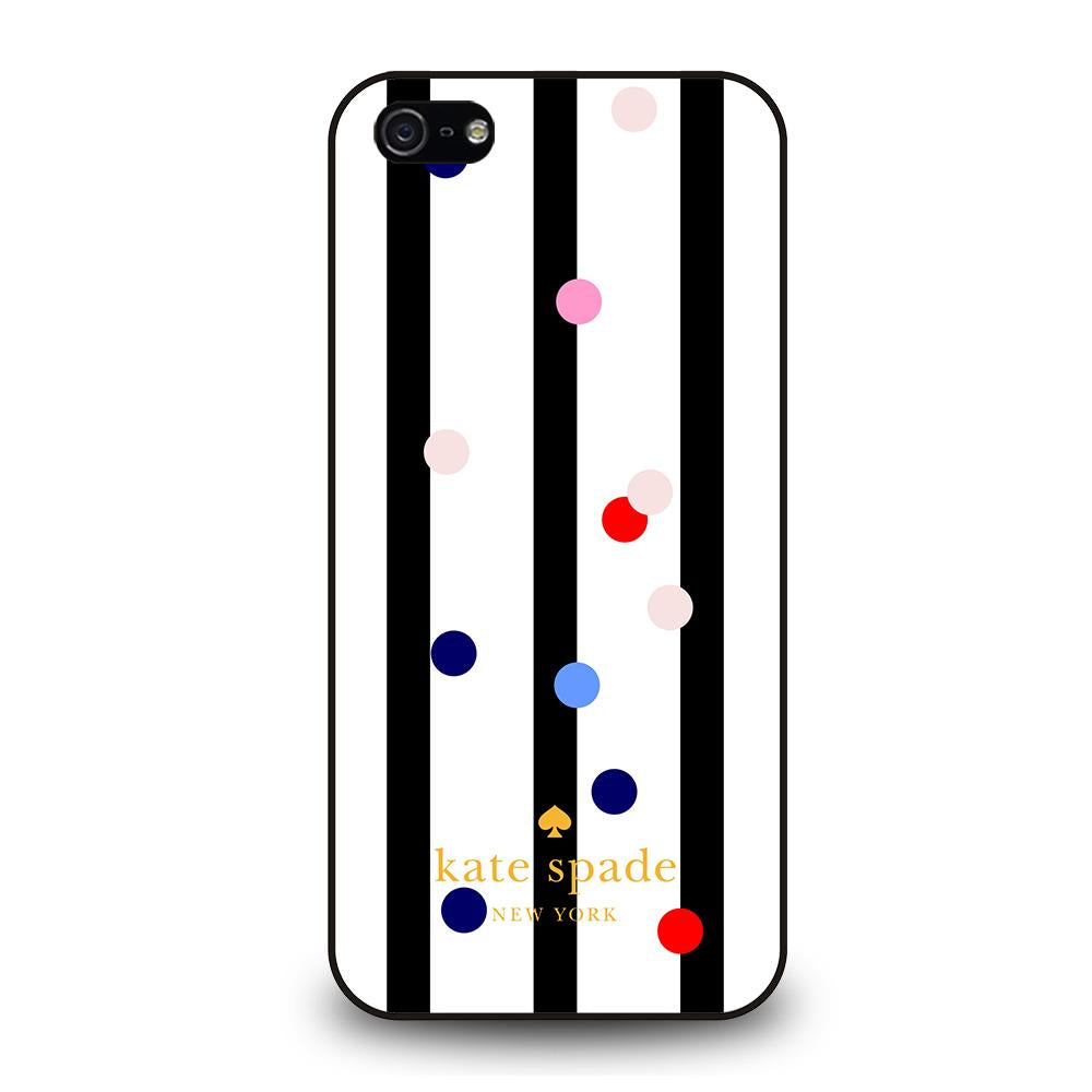 KATE SPADE STRIPE POLKADOTS Cover iPhone 5 / 5S / SE
