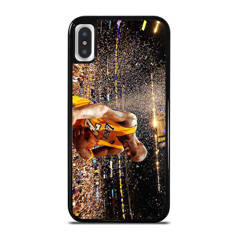KOBE BRYANT LA LAKERS cover iPhone X / XS,cover iphone x 3d cover iphone x integrale,KOBE BRYANT LA LAKERS cover iPhone X / XS