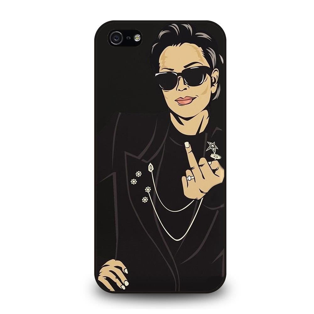 KRIS JENNER MIDDLE FINGER Cover iPhone 5 / 5S / SE