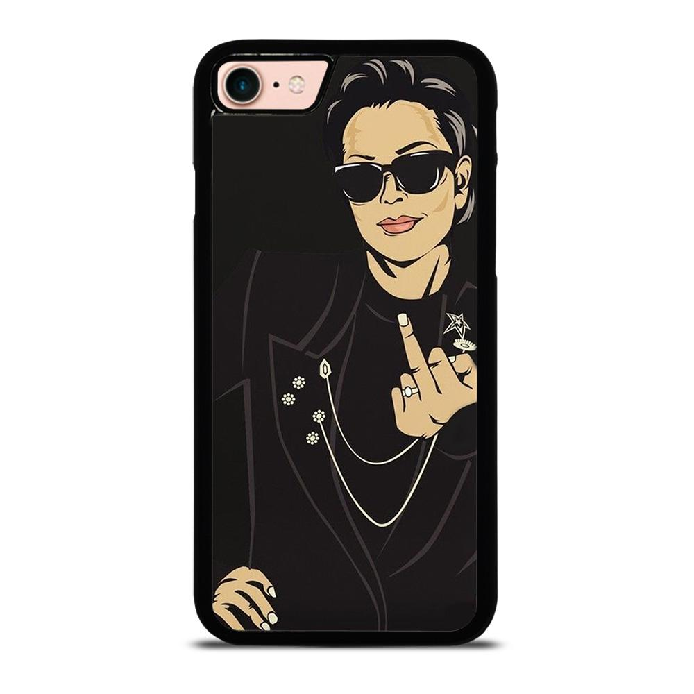 KRIS JENNER MIDDLE FINGER Cover iPhone 8