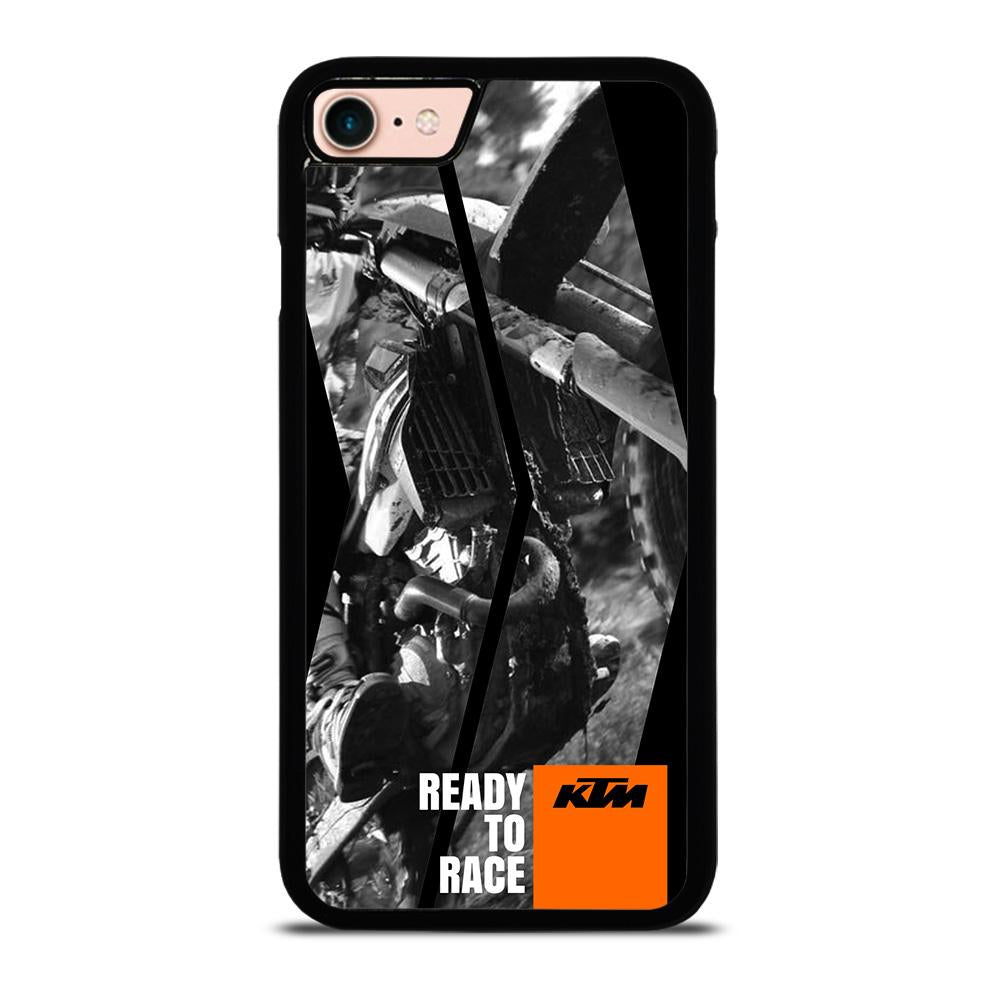 KTM MOTORCYCLE READY TO RACE Cover iPhone 8