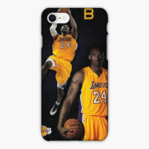 Custodia Cover iphone 6 7 8 plus Kobe Bryant La Laker 24
