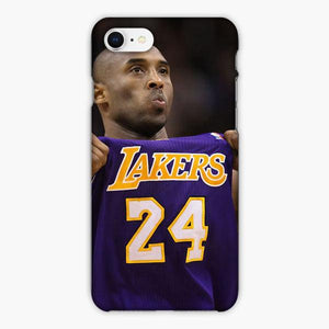 Custodia Cover iphone 6 7 8 plus Kobe Bryant La Laker Purple Pride T Shirt