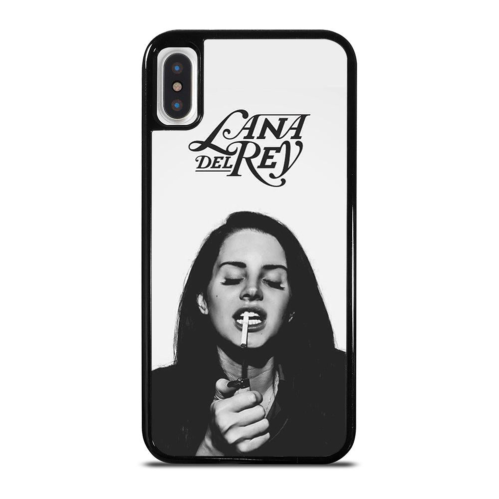 LANA DEL REY AT SMOKING cover iPhone X / XS,cover iphone x vans cover iphone x 0.1 mm,LANA DEL REY AT SMOKING cover iPhone X / XS