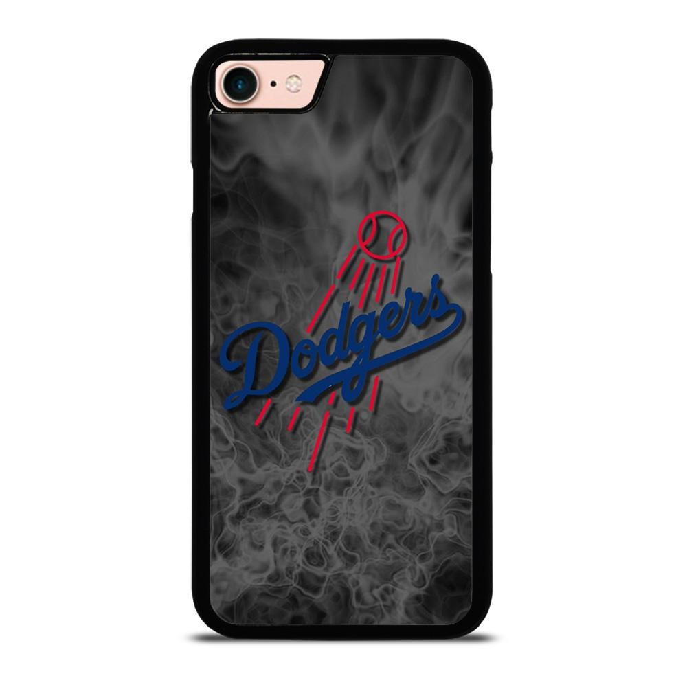 LA DODGERS DARK FLAMES Cover iPhone 8