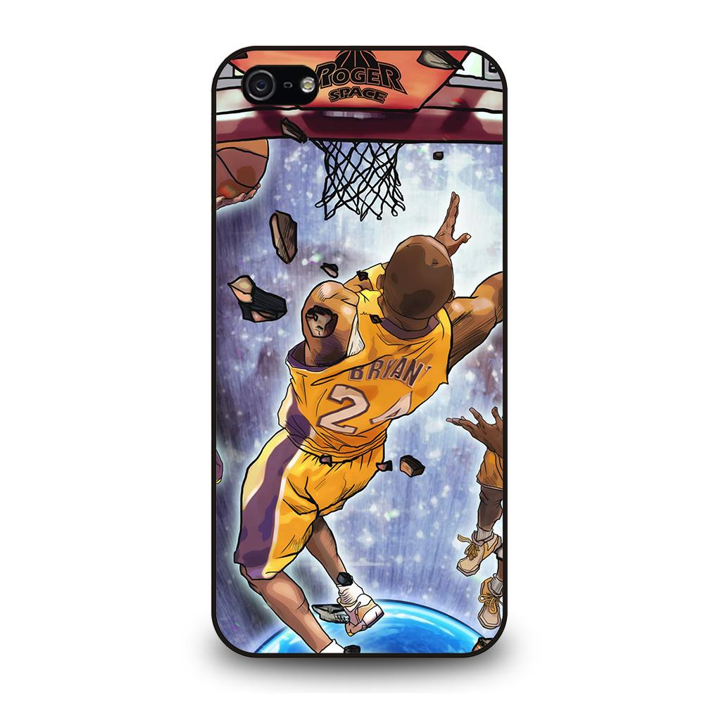 LA LAKERS KOBE BRYANT JUMP ART Cover iPhone 5 / 5S / SE
