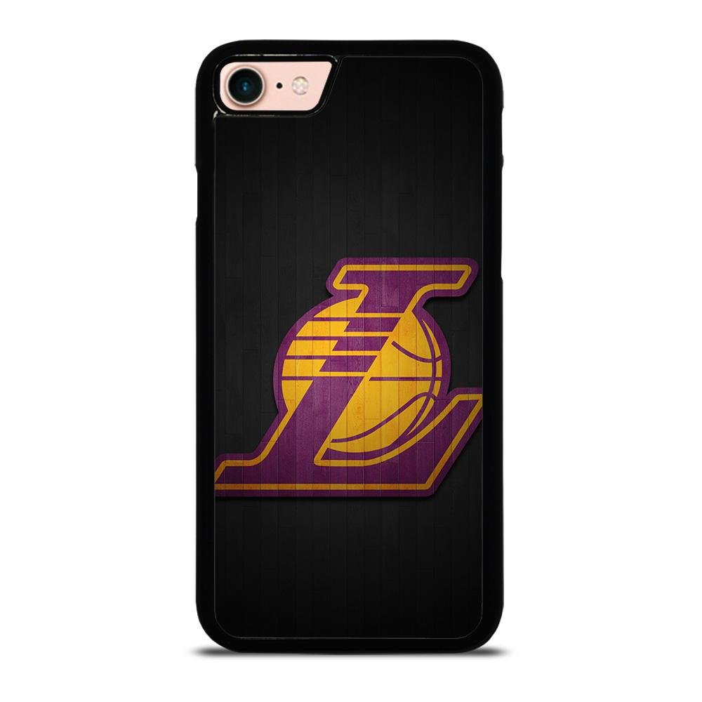 LA LAKERS WOODEN LOGO Cover iPhone 8