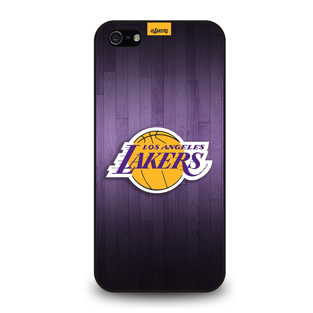 LA LAKERS WOOD DESIGN Cover iPhone 5 / 5S / SE