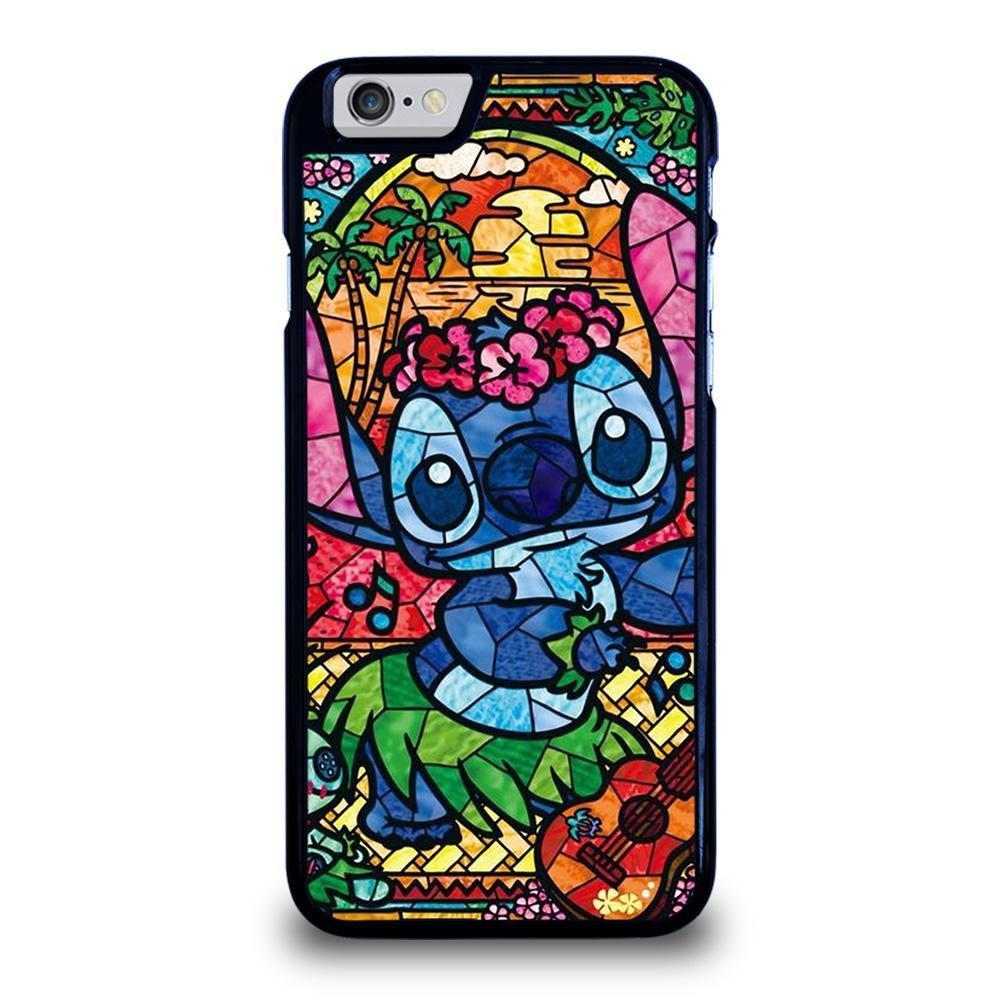 LILO & STITCH STAINED GLASS Cover iPhone 6 / 6S