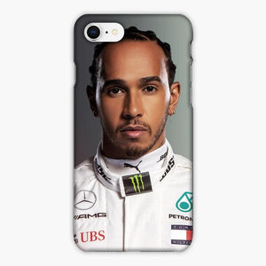 Custodia Cover iphone 6 7 8 plus Lewis Hamilton F1 Driver For Mercedes