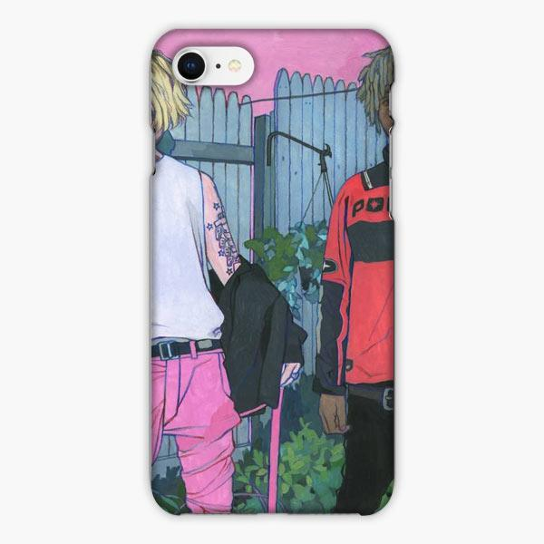 Custodia Cover iphone 6 7 8 plus Lil Peep X Lil Tracy Watercolor