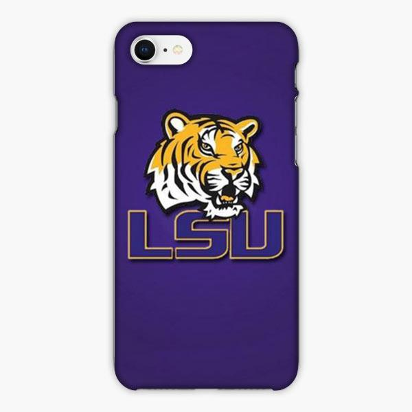 Custodia Cover iphone 6 7 8 plus Louisiana State University Tiger Logo
