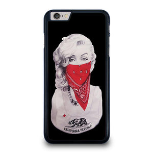 MARILYN MONROE RED BANDANA GANGSTER Cover iPhone 6 / 6S Plus