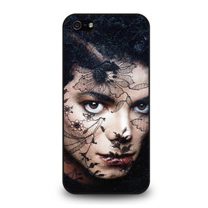 MICHAEL JACKSON FACE POTRAIT Cover iPhone 5 / 5S / SE