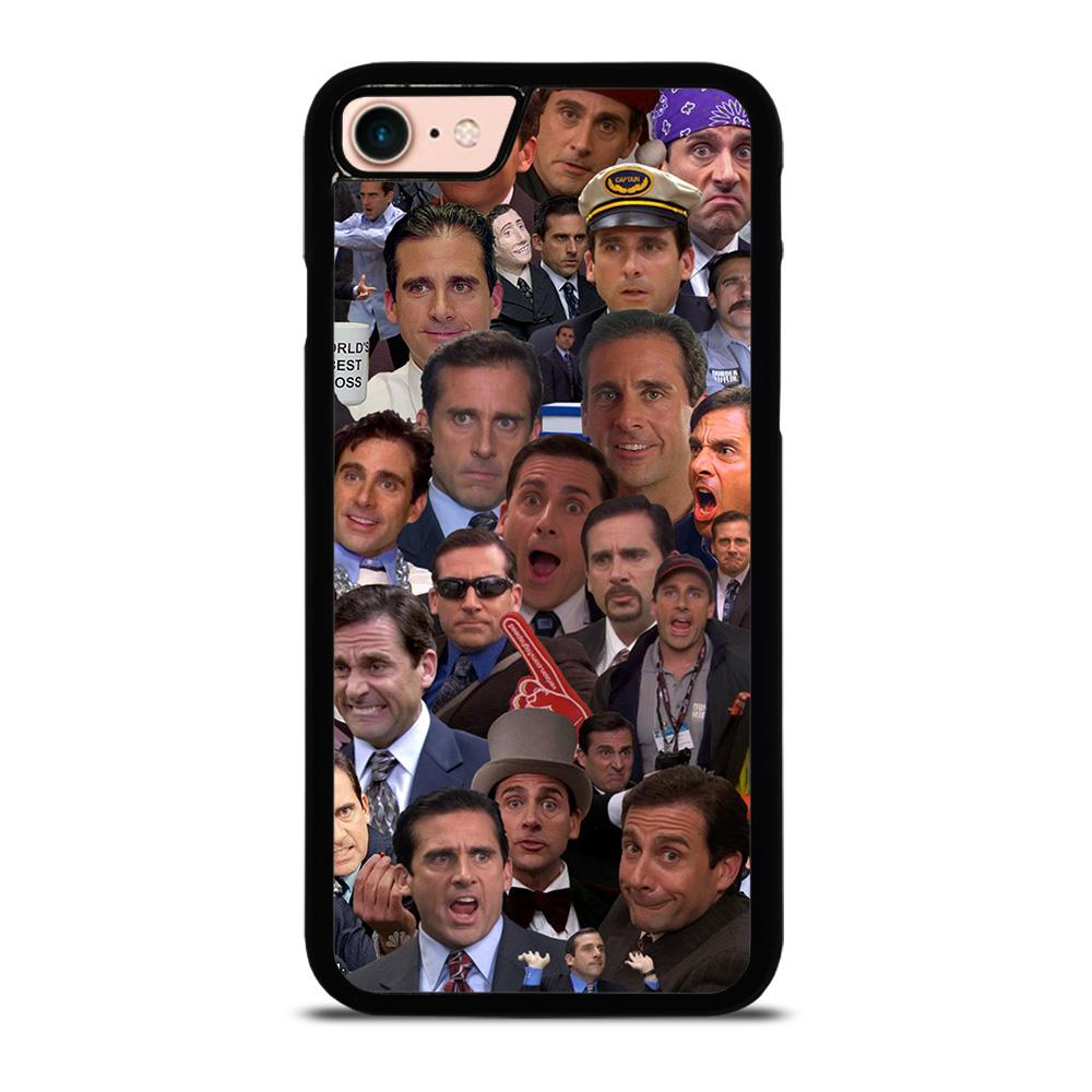 MICHAEL SCOTT COLLAGE Cover iPhone 8