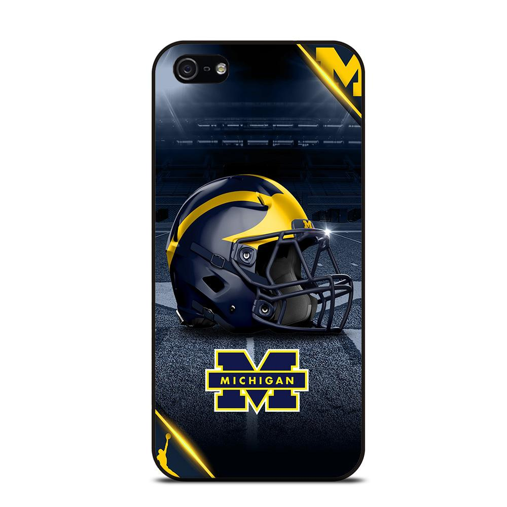 MICHIGAN WOLVERINES FOOTBALL 3 Cover iPhone 5 / 5S / SE